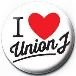 UNION J - i love  Badges