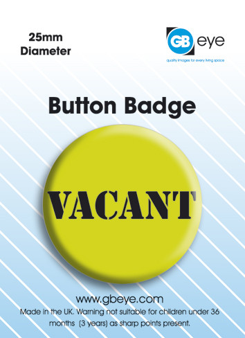 Vacant Badge