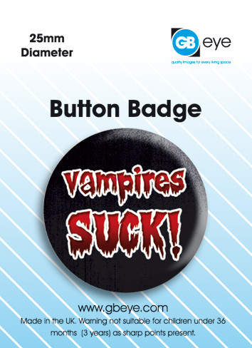 Vampire Suck Badge