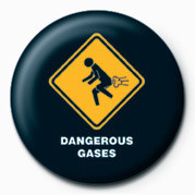 WARNING SIGN - DANGEROUS G Badges