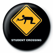 WARNING SIGN - STUDENT CRO Badge