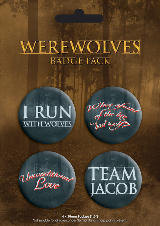 WEREWOLVES Badge Pack