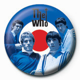 WHO - target band Badges