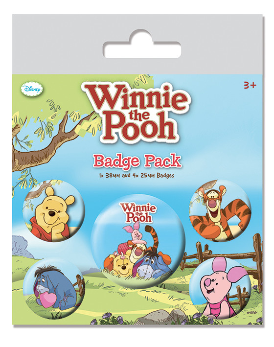 Winnie the Pooh - Characters Badge Pack