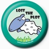 WITH IT (LOST THE PLOT) Badge