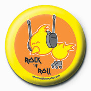WITH IT (ROCK 'N' ROLL) Badges