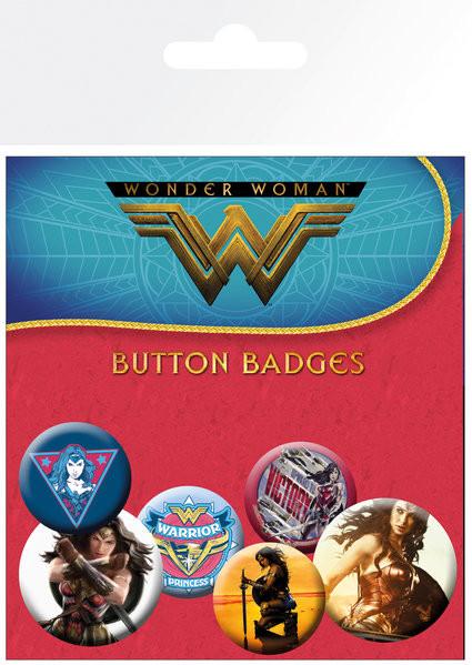 Wonder Woman - Mix Badge Pack