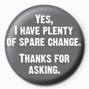 YES, I HAVE PLENTY OF Spar Badge