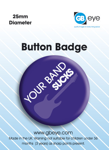 Your band Badges