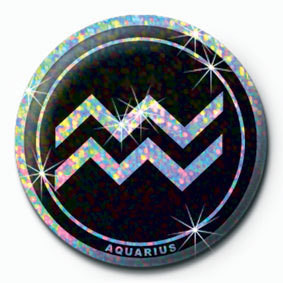 ZODIAC - Aquarius Badge