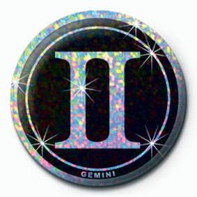ZODIAC - Gemini Badges