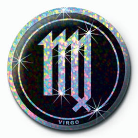 ZODIAC - Virgo Badge