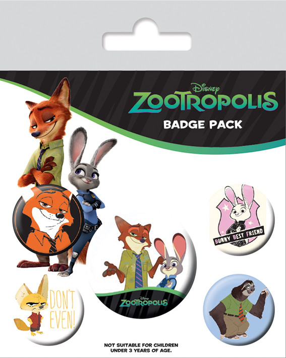 Zootropolis - Bunny Best Friend Badge Pack