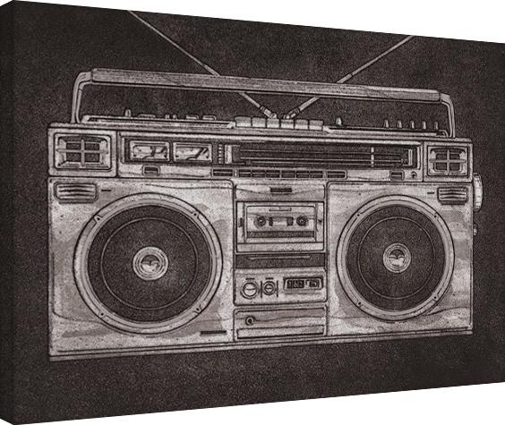 Barry Goodman - Ghetto Blaster Canvas Print