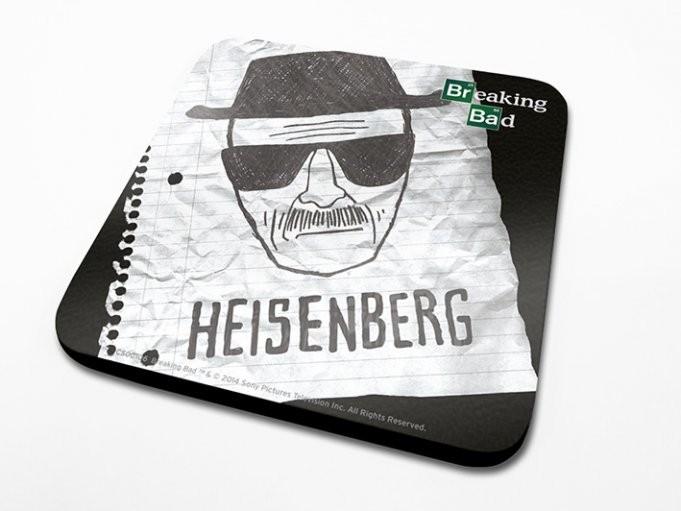 Bases para copos Breaking Bad - Heisenberg Paper