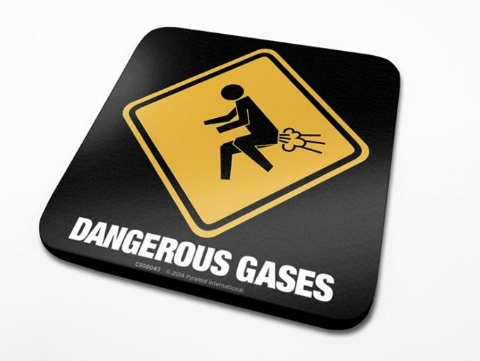 Bases para copos Dangerous Gases