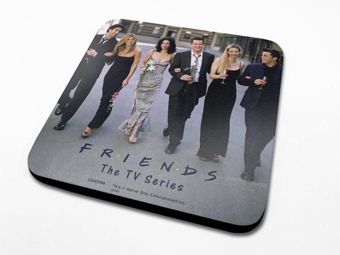 Bases para copos Friends - Cast