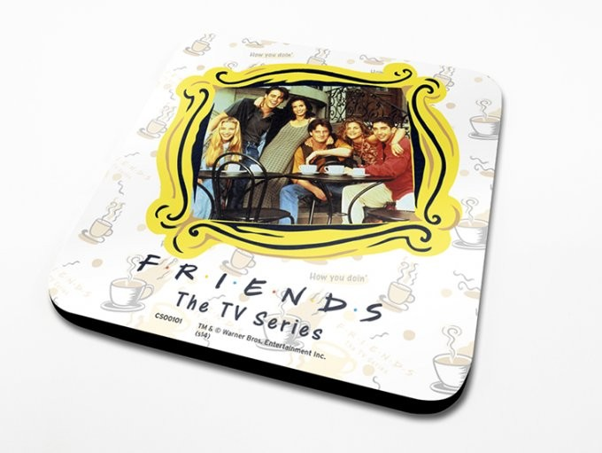 Bases para copos Friends - Framed