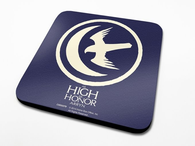 Bases para copos Game of Thrones - Arryn