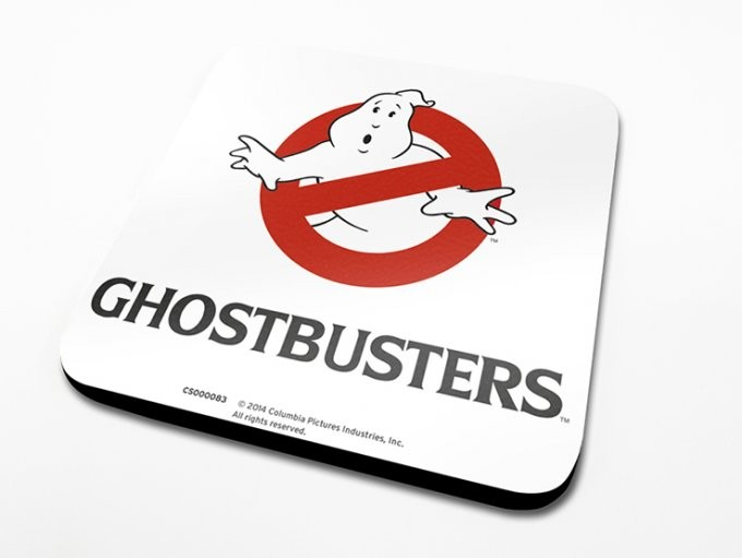 Bases para copos Ghostbusters - Logo