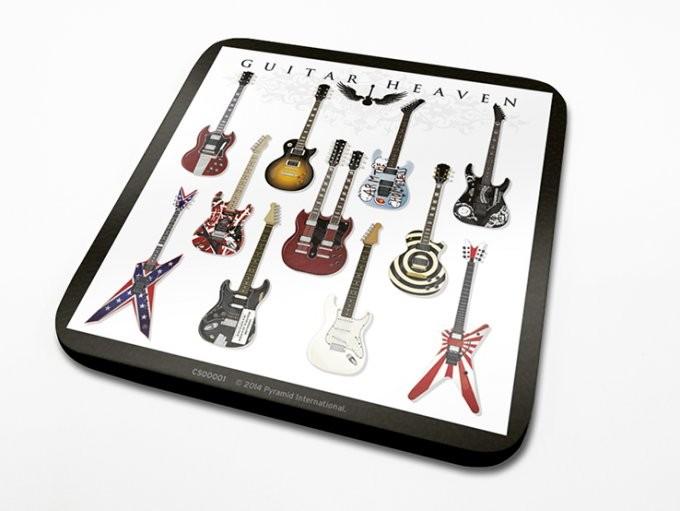 Bases para copos Guitar Heaven