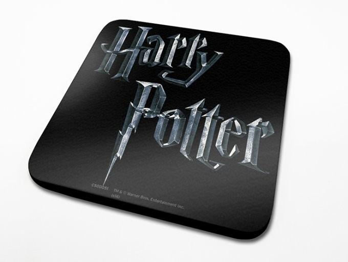 Bases para copos Harry Potter - Logo
