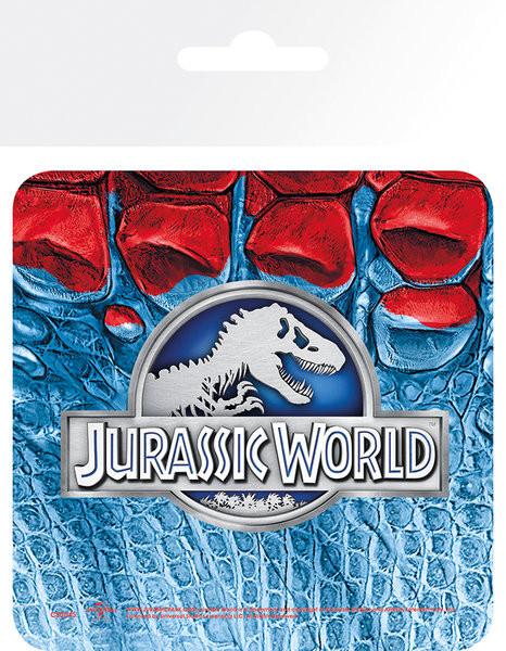 Bases para copos Jurassic World - Logo