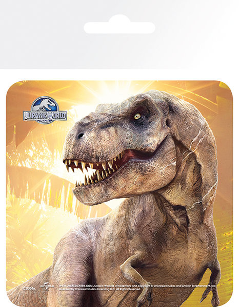 Bases para copos Jurassic World - T-Rex