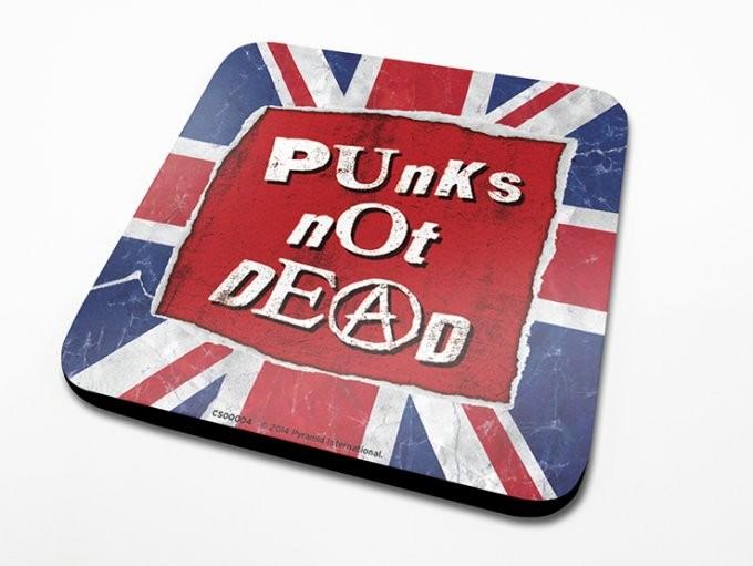 Bases para copos Punk's Not Dead
