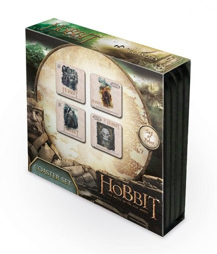Bases para copos The Hobbit 3: Battle of Five Armies