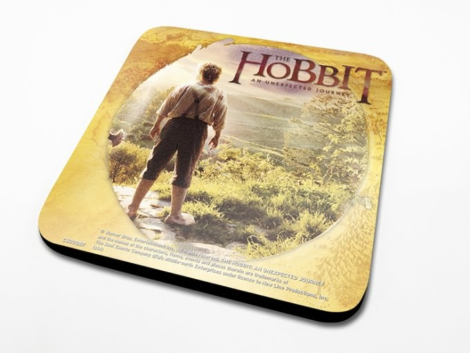 Bases para copos The Hobbit - Circle