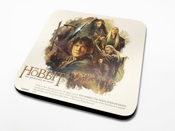 Bases para copos The Hobbit - Montage