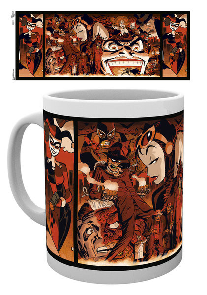 Mug Batman Comics - Villains