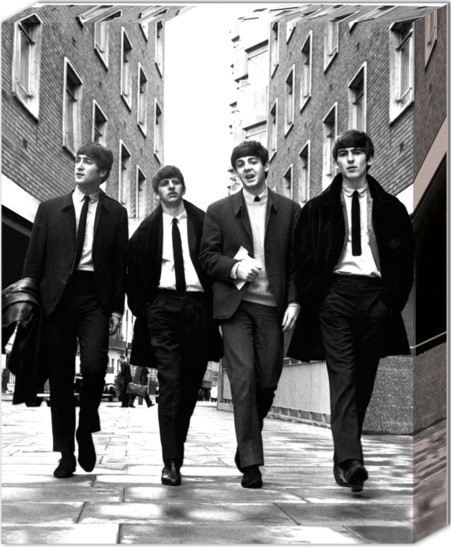 Beatles - In London - Canvas Print