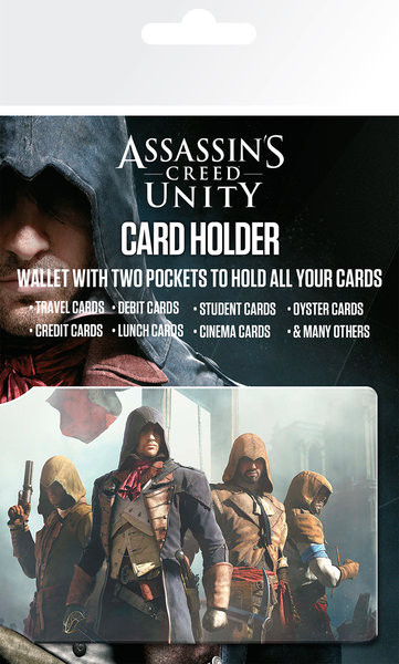 Bolsa para cartões Assassin's Creed Unity - Characters