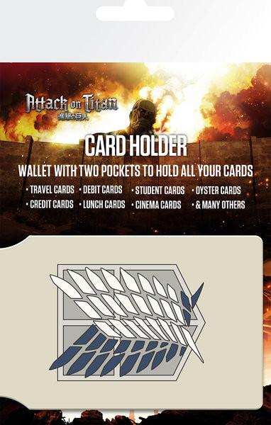 Bolsa para cartões Attack on Titan (Shingeki no kyojin) - Badge