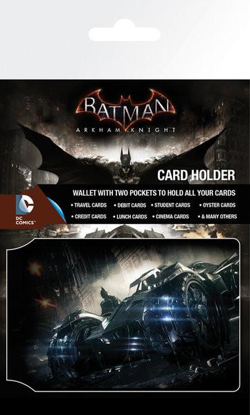 Bolsa para cartões Batman Arkham Knight - Batmobile