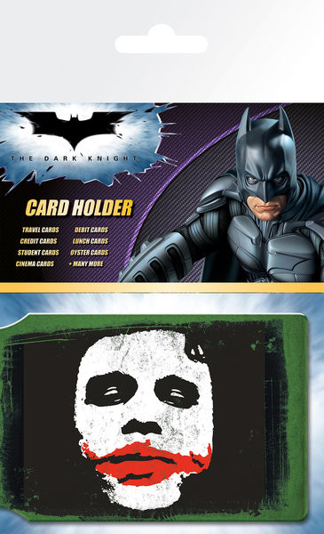 Bolsa para cartões Batman The Dark Knight - Joker