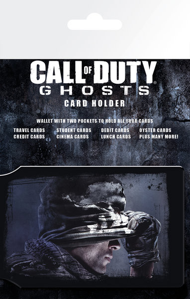 Bolsa para cartões Call of Duty Ghosts - Cover S.O.S