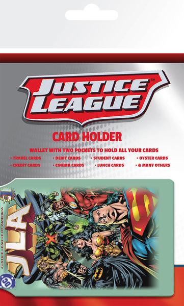 Bolsa para cartões DC Comics - Justice League