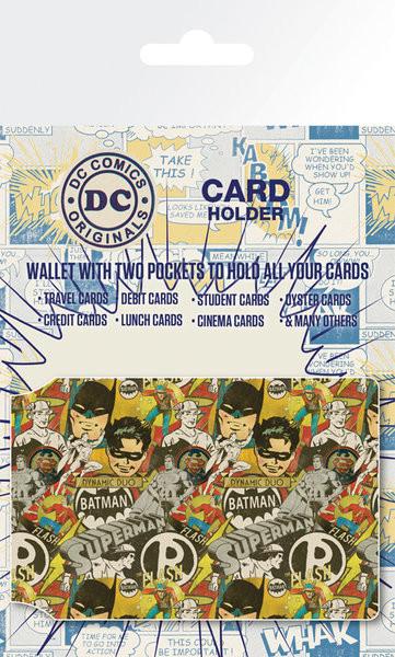 Bolsa para cartões DC Comics - Retro Cast
