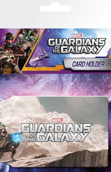 Bolsa para cartões Guardians of the Galaxy - Cast