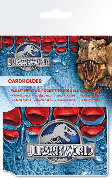 Bolsa para cartões Jurassic World - Logo