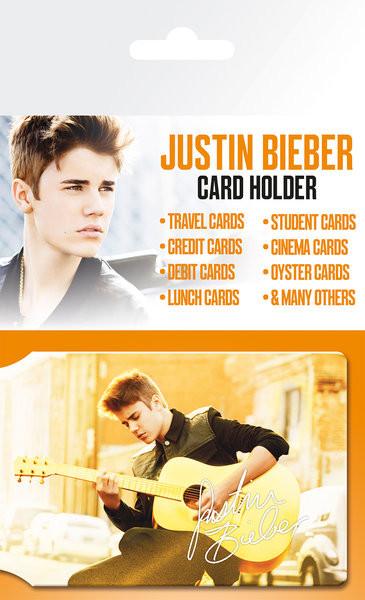 Bolsa para cartões JUSTIN BIEBER - belieber