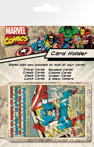 Bolsa para cartões MARVEL - capitan america