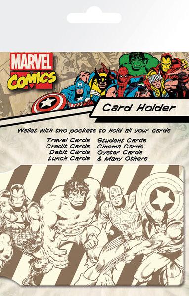 Bolsa para cartões MARVEL - heroes