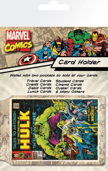 Bolsa para cartões MARVEL - hulk