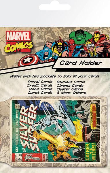 Bolsa para cartões MARVEL - silver surfer