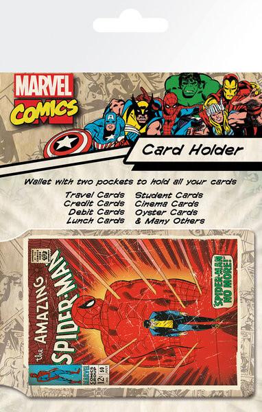Bolsa para cartões  MARVEL - spiderman