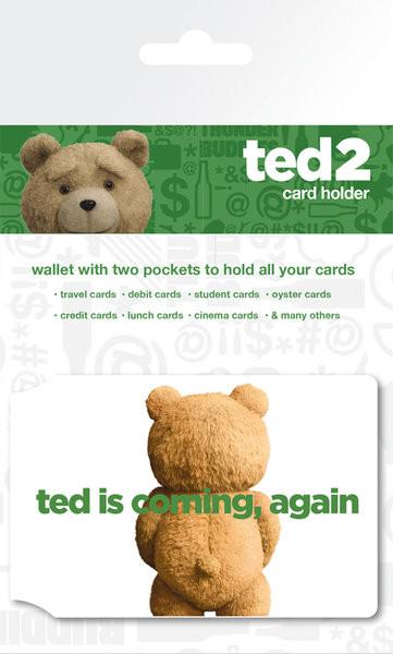 Bolsa para cartões Ted 2 - Logo